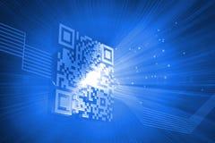 Digitally generated barcode Stock Photos