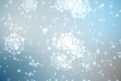 Digitally generated delicate snowflake design Royalty Free Stock Photography