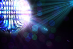 Digitally generated disco ball Royalty Free Stock Photos