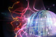 Digitally generated disco ball Royalty Free Stock Image