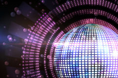 Digitally generated disco ball Stock Image