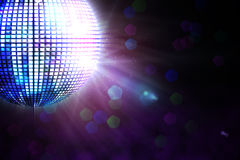 Digitally generated disco ball Stock Images