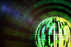 Digitally generated disco ball Stock Photo