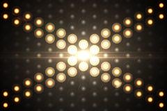 Digitally generated disco light background Stock Photos