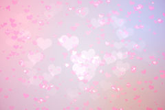 Digitally generated girly heart design Royalty Free Stock Photos