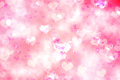 Digitally generated girly heart design Royalty Free Stock Image