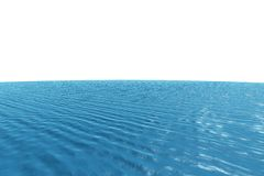 Digitally generated graphic Blue ocean Royalty Free Stock Images