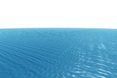 Digitally generated graphic Blue ocean Stock Images