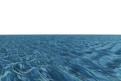 Digitally generated graphic Blue ocean Stock Photos