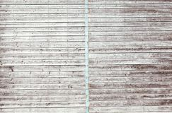Digitally generated grey wooden planks Stock Photo