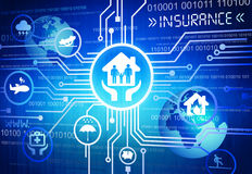 Free Digitally Generated Image Of Insurance Concepts Stock Images - 44940174