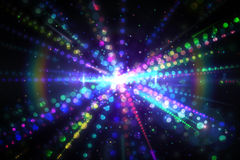 Digitally generated laser background Stock Photography