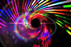 Digitally generated laser background Royalty Free Stock Photography