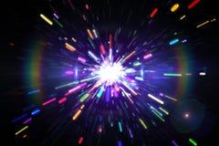 Digitally generated laser background Stock Photos