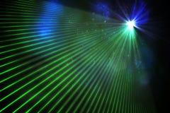 Digitally generated laser background Royalty Free Stock Photo