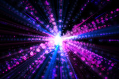 Digitally generated laser background Stock Photo