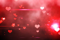 Digitally generated love background Royalty Free Stock Photos
