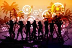 Digitally generated nightclub background Royalty Free Stock Photography