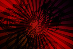 Digitally generated red background Royalty Free Stock Photos