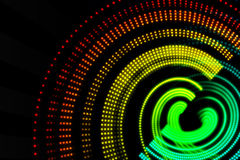 Digitally generated spiral background Royalty Free Stock Photography