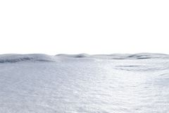 Digitally generated white snowy landscape Royalty Free Stock Image