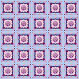 `Rododendron` - Seamless Pattern design in creative collage style - pastels and pinks. This is a digitally made, seamless tile pattern in a creative collage Royalty Free Stock Image
