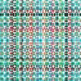 Digitally Rendered Turquoise Red Gray Green Abstract Pattern Royalty Free Stock Images
