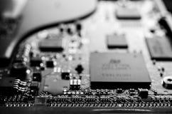 Digitalrechner elektronisch Lizenzfreies Stockbild