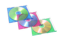 Digitalschallplatte im Plastikfall Lizenzfreie Stockfotos