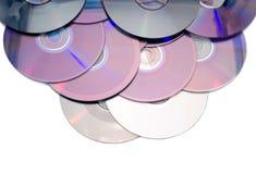 Digitalschallplatten lokalisiert Lizenzfreies Stockbild