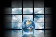 digitalt avstånd stock illustrationer