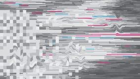 Digitalt förfall för abstrakt för bakgrundsvektortekniskt fel design för stil Royaltyfri Fotografi