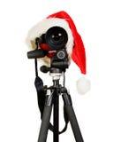 digitalt foto santa för kameralock Fotografering för Bildbyråer