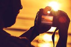 Digitalt fotografi för lopp Royaltyfri Fotografi