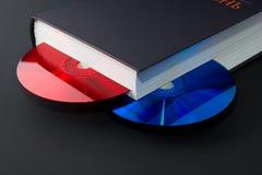 digitalt gående papper för bok royaltyfria bilder