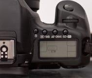 digitalt inställningsslrfönster royaltyfri fotografi