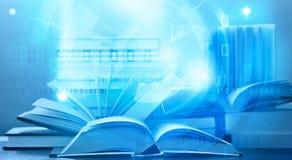 Digitalt lära för e-bok Arkivfoto