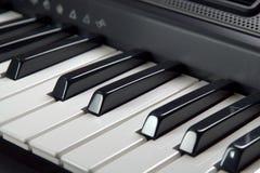 digitalt piano royaltyfri foto