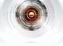 Digitaltechnik-Hintergrund lizenzfreie abbildung