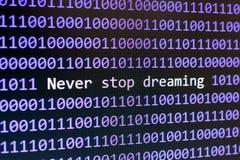 Digitaltechnik k?nstliche Intelligenz stockbild