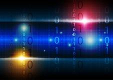 Digitaltechnikhintergrund Lizenzfreie Stockfotos