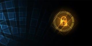 Digitaltechnikwelt Virtuelles Konzept des Geschäfts Vektor backg Lizenzfreie Stockbilder