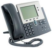 Digitaltelefonset, bei aufliegendem Hörer Stockfoto