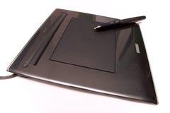 Digitizador moderno - tablilla de la pluma Fotografía de archivo