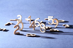Digits Concept Stock Photography
