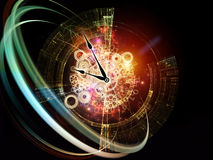 Digits der Zeit vektor abbildung