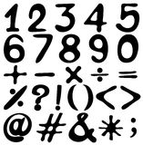 Digits Stock Photography