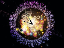 Digits of Time Royalty Free Stock Image