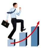 Digiuna l'aumento Immagine Stock