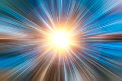 Digiuna la luce di alta velocità di moto dello zoom Fotografia Stock